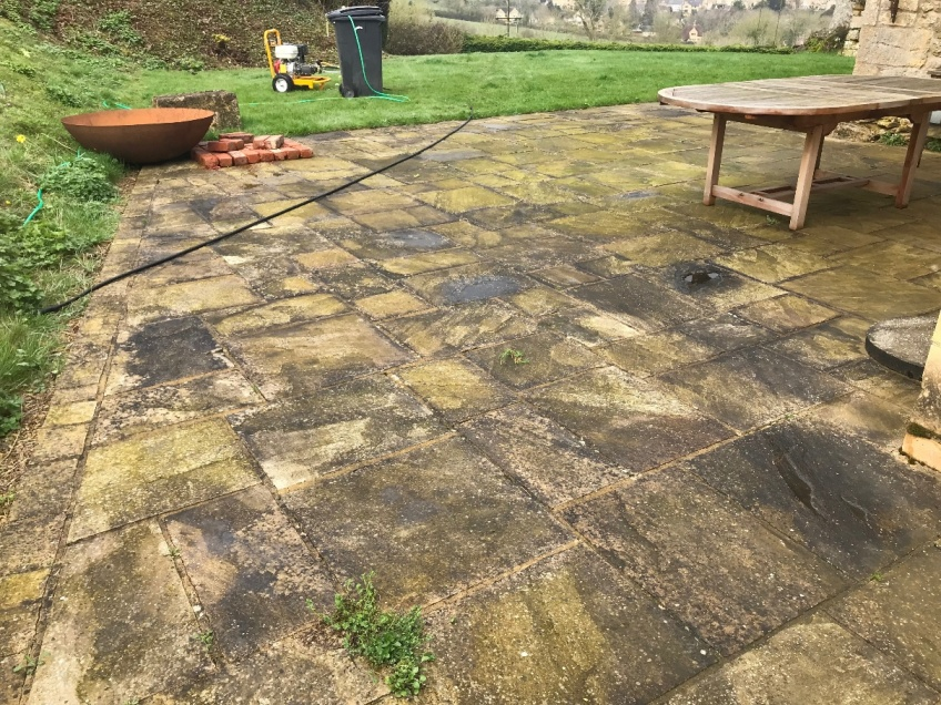 Patio Cleaning -