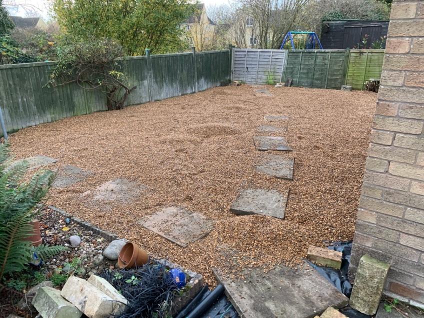 Maintenance Free Garden Makeover - Willersley -