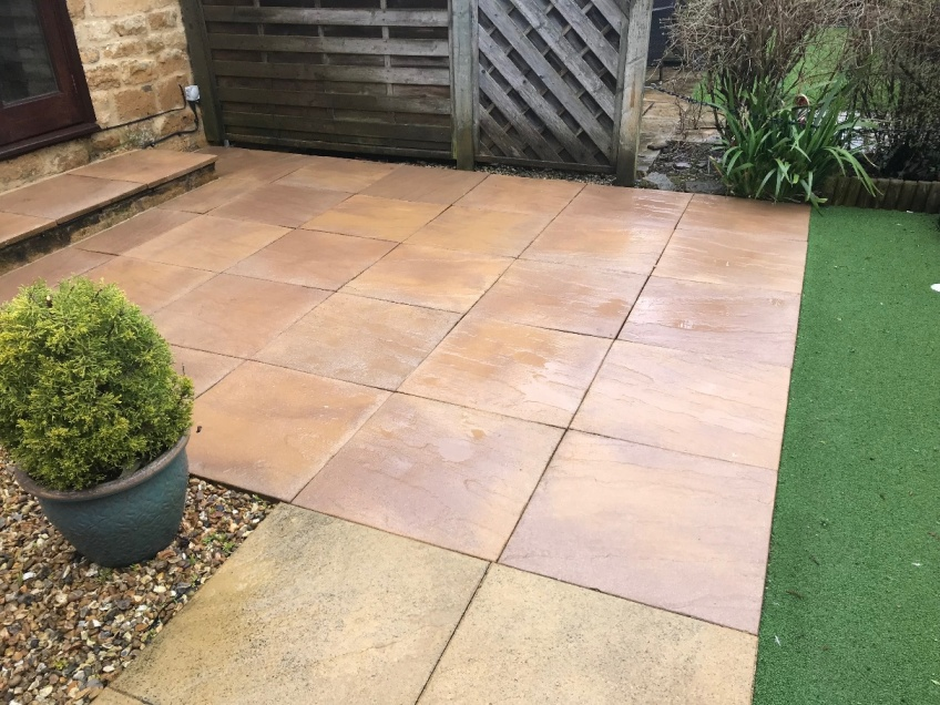 Patio & Steps Cleaning -