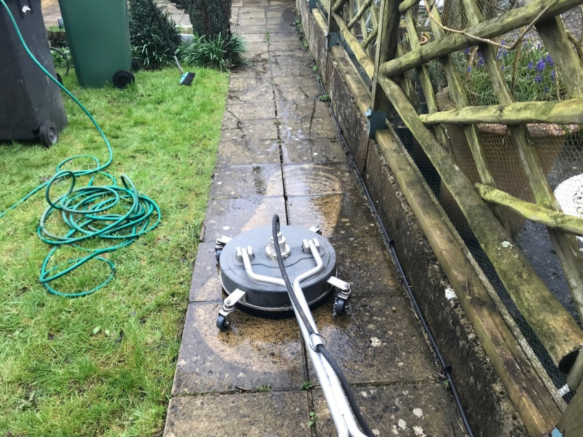 Patio & Path Cleaning -